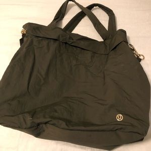 lululemon Gym/weekend bag
